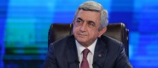 Sargsyan sets three provisions for resumption of Karabakh talks
