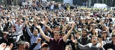 "Armenian protest leader claims to launch nationwide ""velvet revolution"""