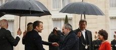 Macron's France – biased co-chair state supports aggressor