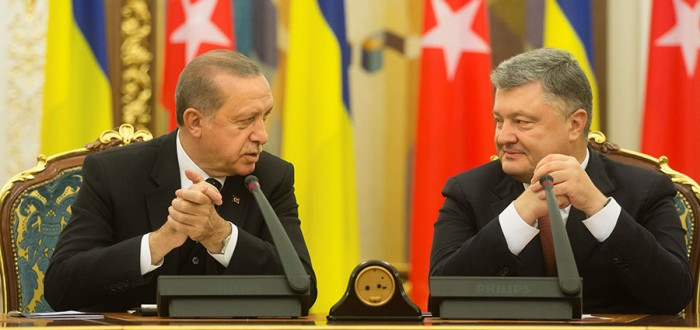 Turkey's Erdogan supports Ukraine over Crimea
