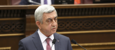 Serzh Sargsyan became Prime Minister of Armenia